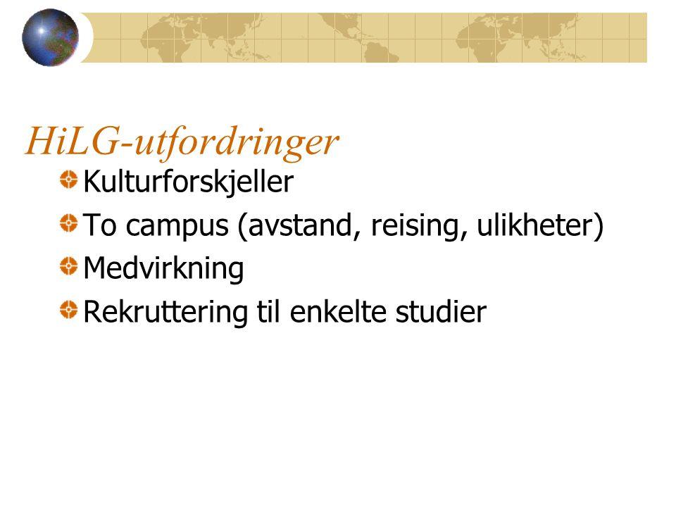 En mer komplett høgskolen - minst 31 Bachelorprogram Reiseliv Øk.adm.