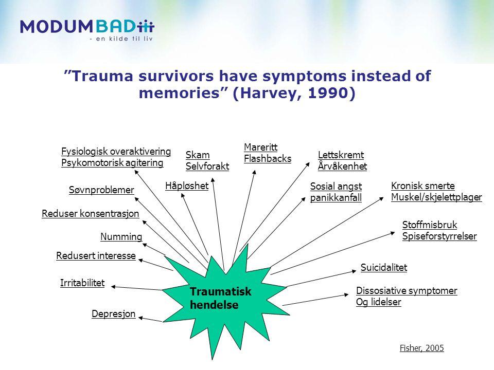 Symptomenes logikk Hvilken funksjon har symptomet.