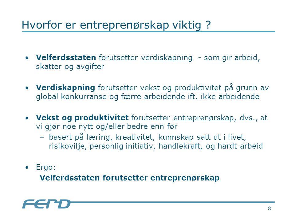8 Hvorfor er entreprenørskap viktig .