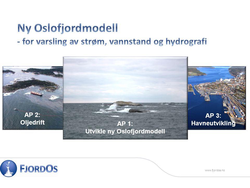 www.fjordos.no AP 1: Utvikle ny Oslofjordmodell AP 2: Oljedrift AP 3: Havneutvikling