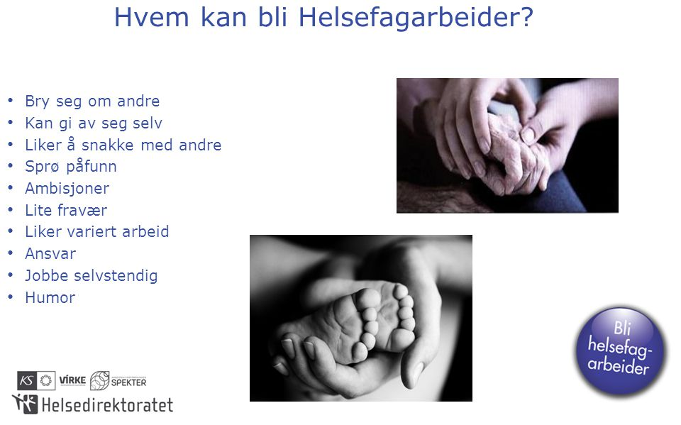 Hvem kan bli Helsefagarbeider.