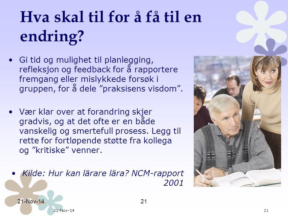 Oversikt samlingene: 2012/2013 Møte med alle rektorene i forkant av oppstarten To-dagers samling sept.