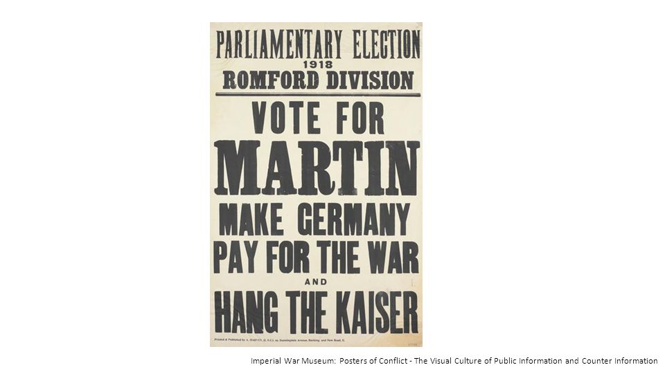 Imperial War Museum: Posters of Conflict - The Visual Culture of Public Information and Counter Information