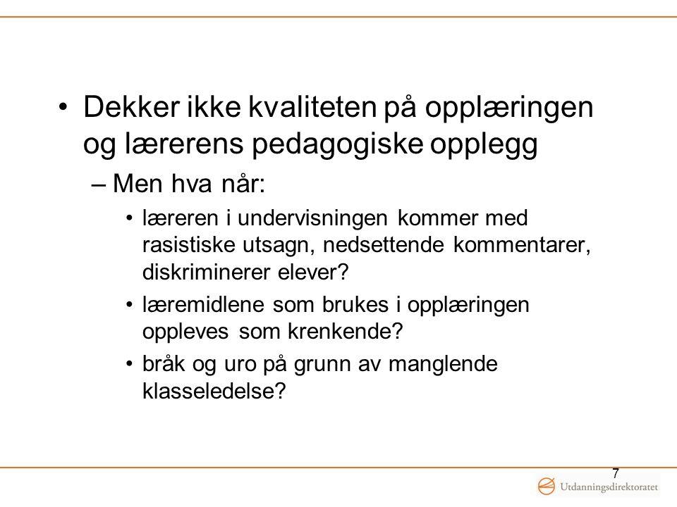 Skolemiljøutvalg Lovpålagt at alle grunnskoler skal ha et SMU, jf.