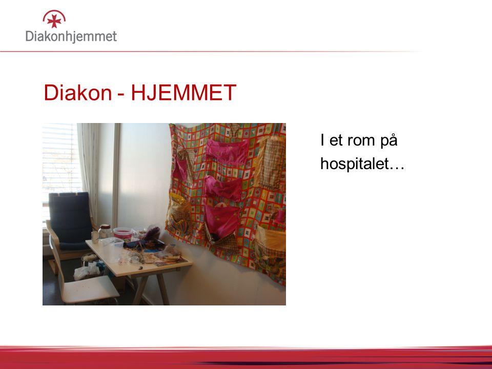 I et rom på hospitalet…