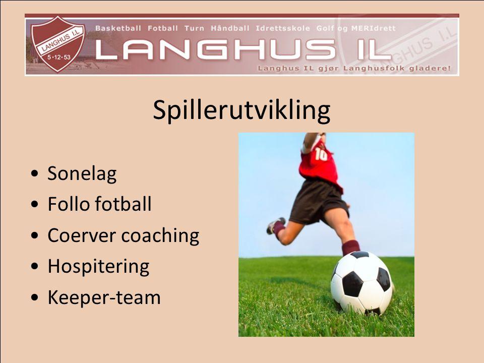 Spillerutvikling Sonelag Follo fotball Coerver coaching Hospitering Keeper-team