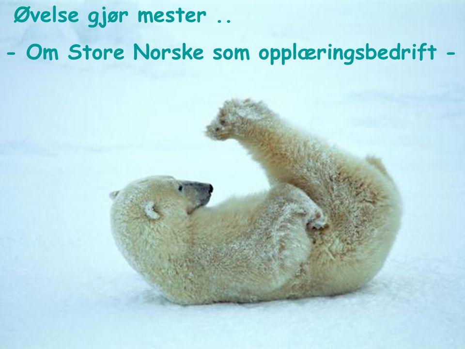 Arktisk fagopplæring Takk for meg!