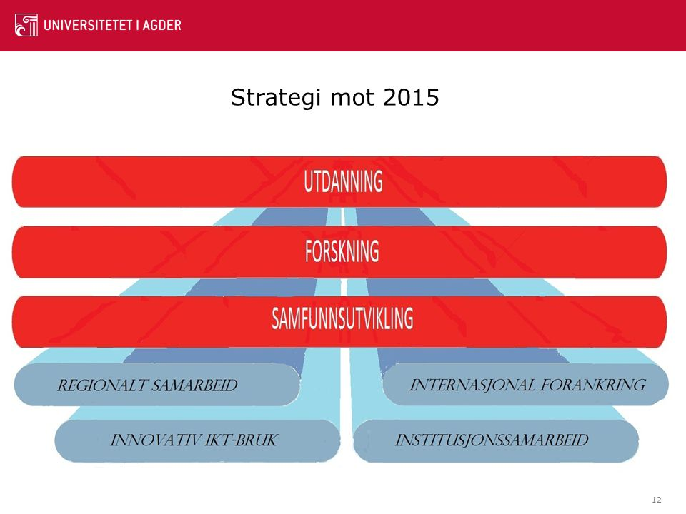 12 Strategi mot 2015