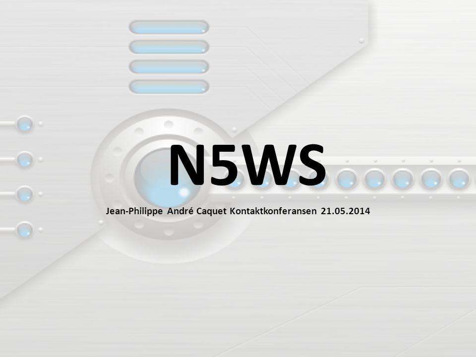 N5WS Jean-Philippe André Caquet Kontaktkonferansen 21.05.2014