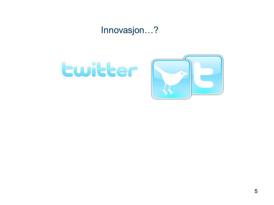 5 Innovasjon…?