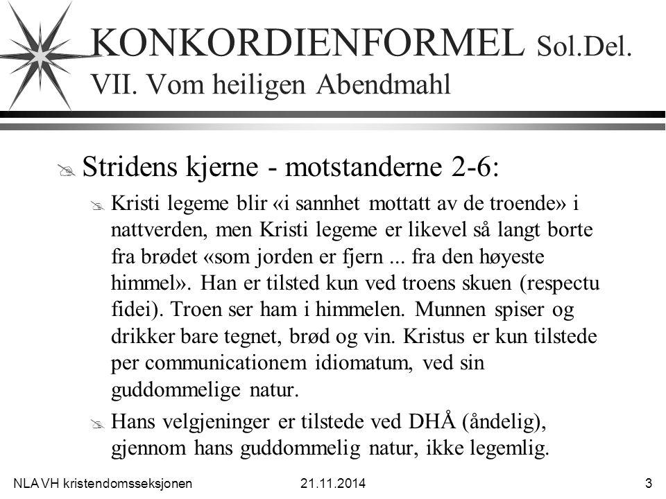 NLA VH kristendomsseksjonen21.11.2014 4 KF VII Sol.Dec.
