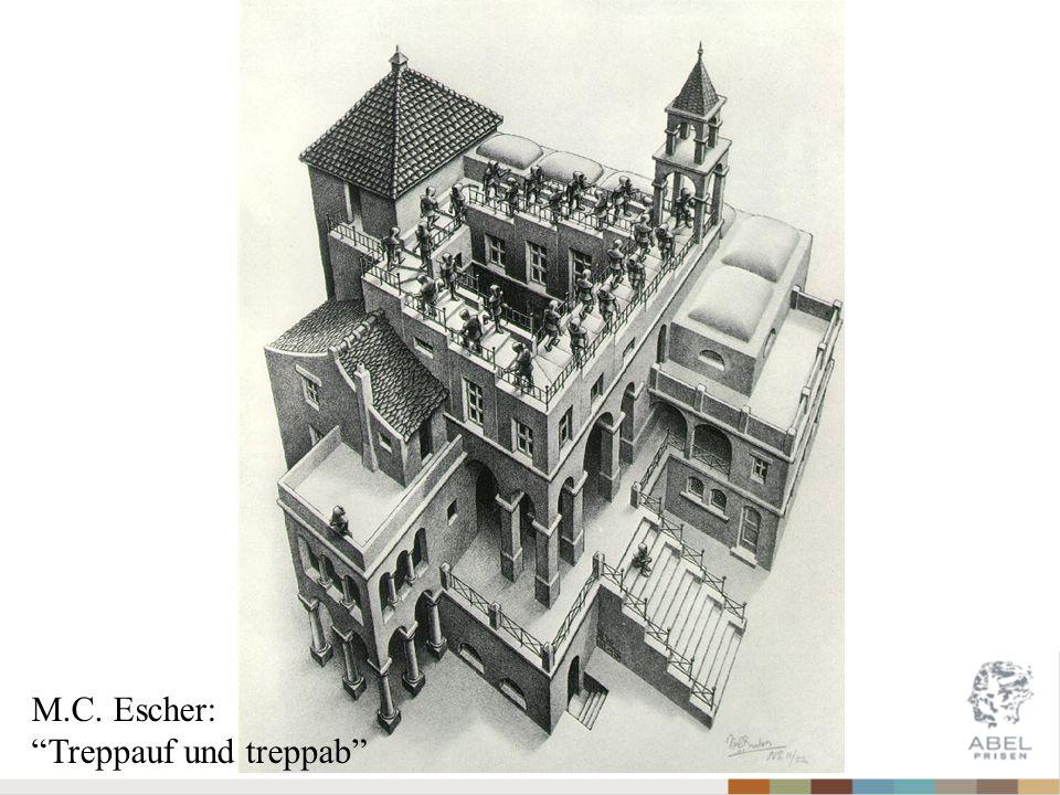 """M.C. Escher: """"Treppauf und treppab"""""""