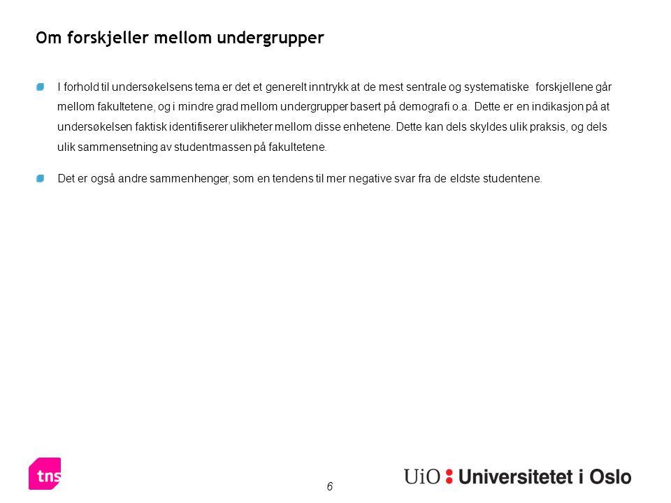 37 Studentforeninger, lag eller organisasjoner Bachelor = Bachelor-, profesjons- eller lærerutdanning (3 eller 4 år) Int.