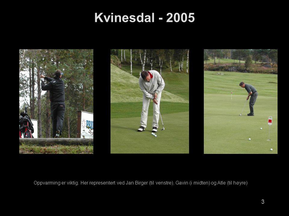 3 Kvinesdal - 2005 Oppvarming er viktig.