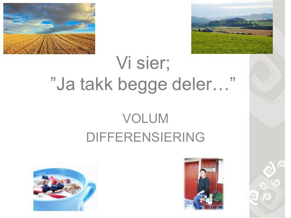 Komiteens flertall (FrP,Høyre,KrF og V) «Vilkårene for jordbruksdrift er forskjellige i ulike deler av landet, og jordbruket bidrar også til andre viktige samfunnsgoder enn mat, slik som ivaretakelse av norsk kulturlandskap, reiseliv og spredt bosetting.
