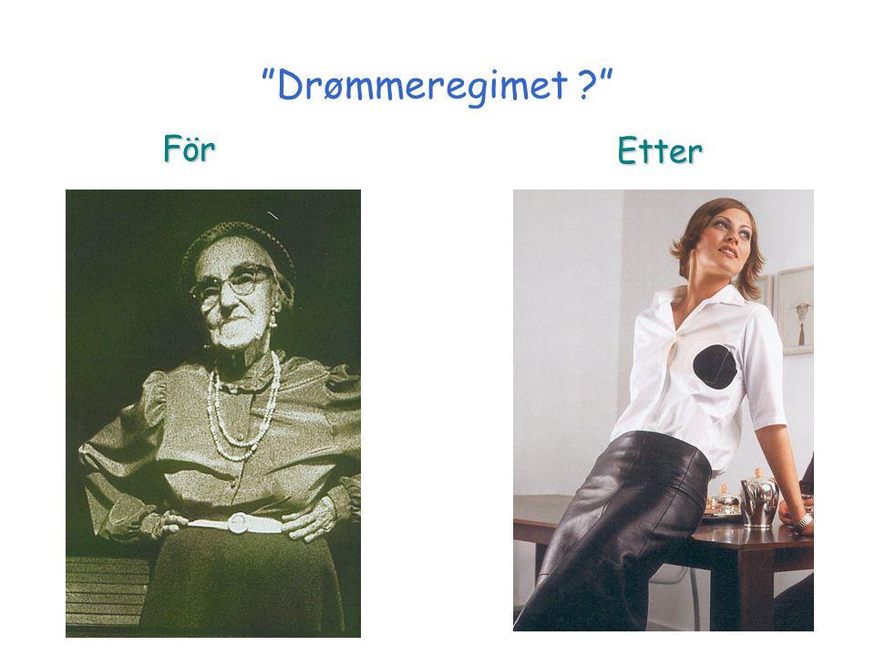 """""""Drømmeregimet ?"""" För Etter"""