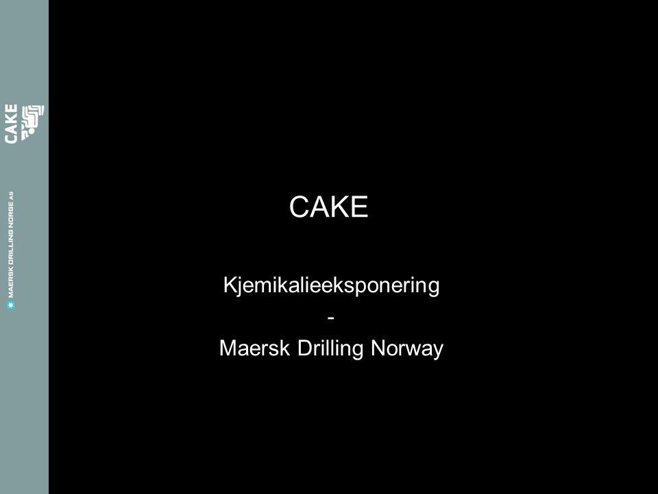 Kjemikalieeksponering - Maersk Drilling Norway CAKE