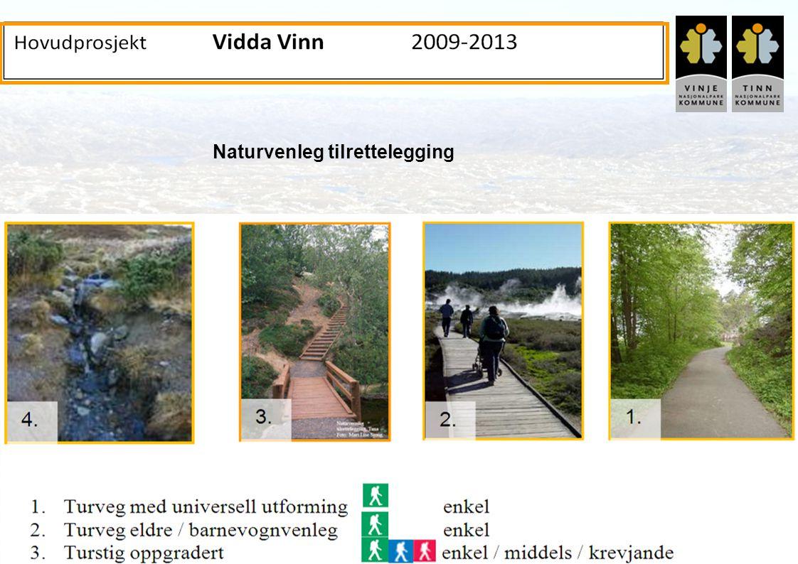 Innovativ Fjellturisme – et prosjekt i Arena-programmet, 2004-2008 www.fjellturisme.no Naturvenleg tilrettelegging