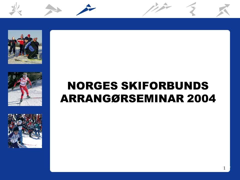 1 NORGES SKIFORBUNDS ARRANGØRSEMINAR 2004
