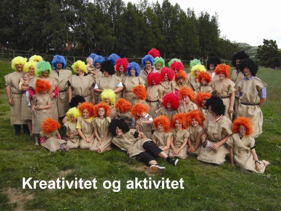 Landsmøter Bergen 2007 En spennende ting ved DNTB Bilde Aktivitetsleiren Kreativitet og aktivitet