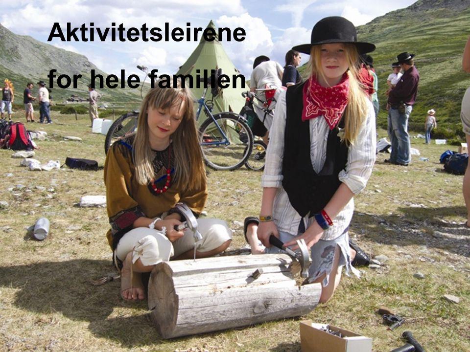 Landsmøter Bergen 2007 Aktivitetsleirene for hele familien