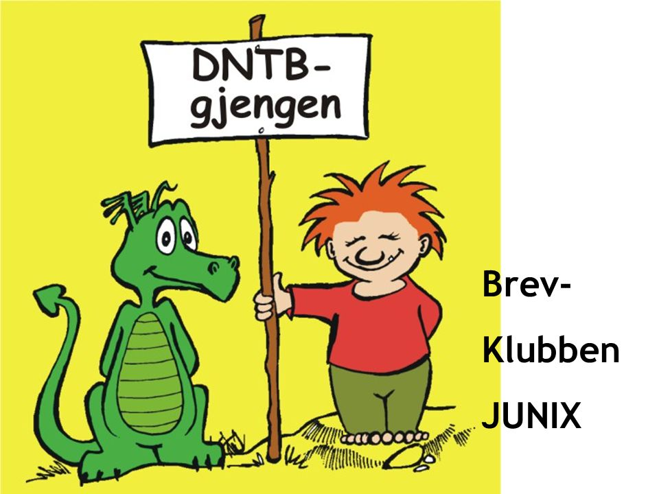 Brev- Klubben JUNIX