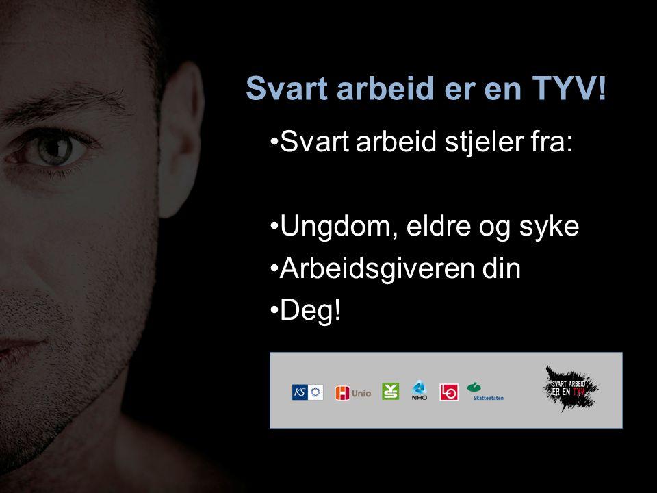 Spleiselaget Norge Skatt etter evne Tjenester etter behov Når noen ikke betaler –må du betale mer –får du mindre
