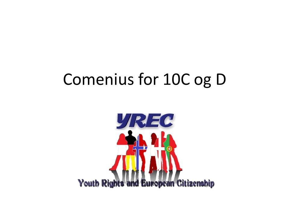 Comenius for 10C og D