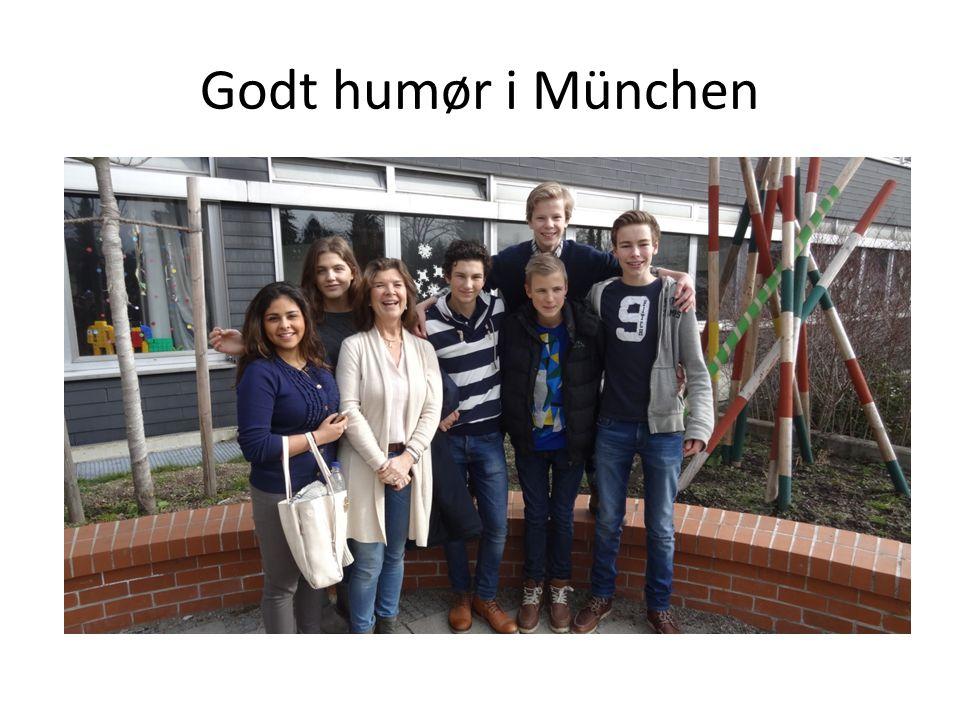 Godt humør i München