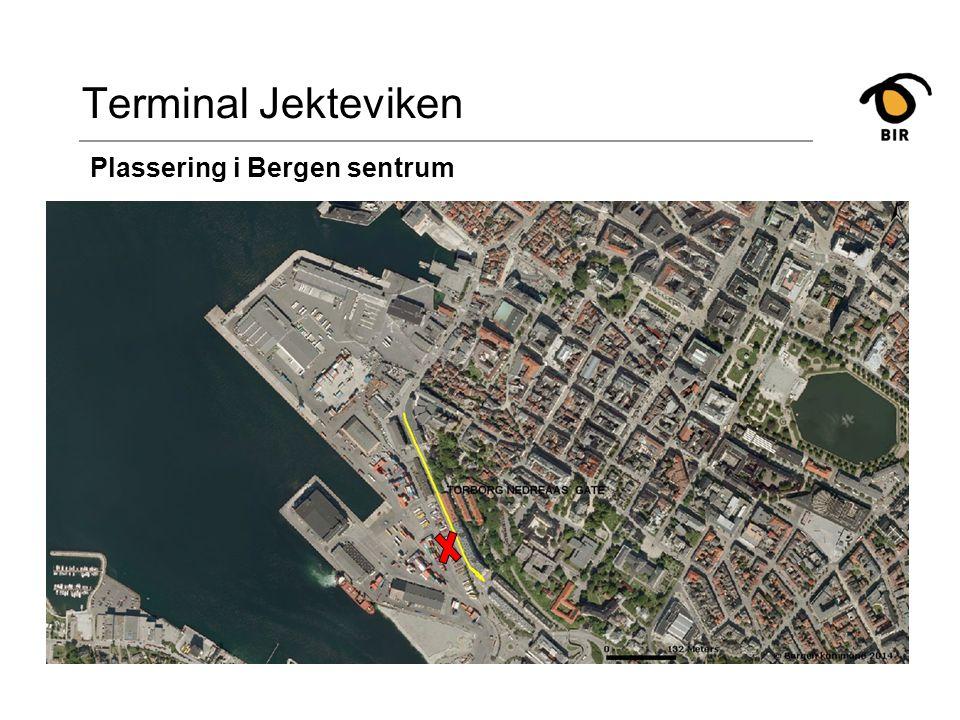 Jekteviken -tilbakeblikk Terminal Jekteviken Plassering i det historiske bilde Gassverkbygget