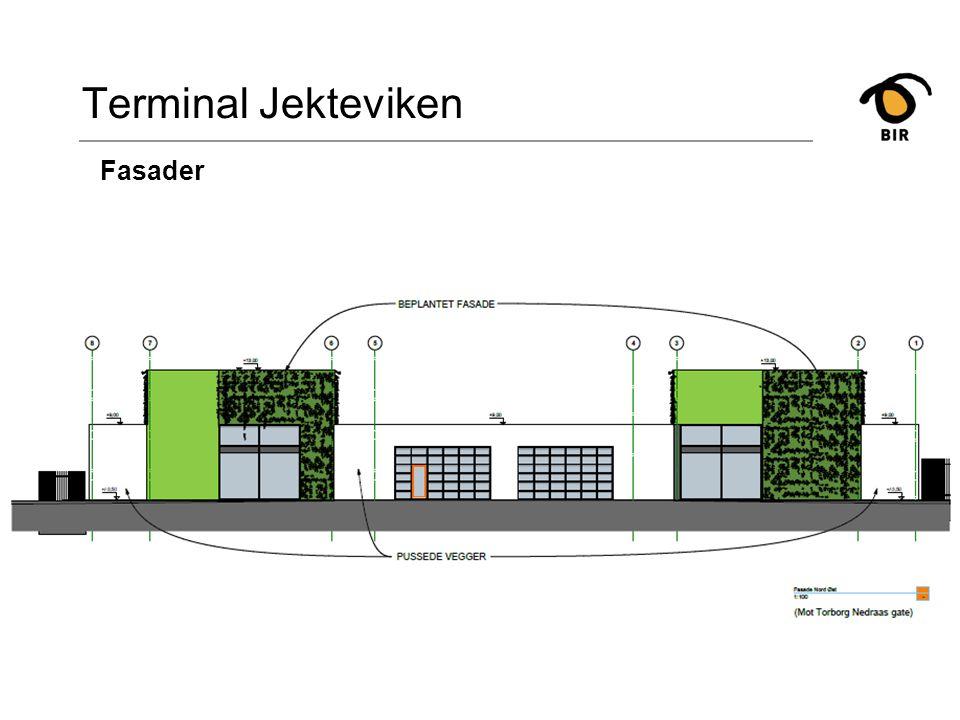 Terminal Jekteviken Fasader