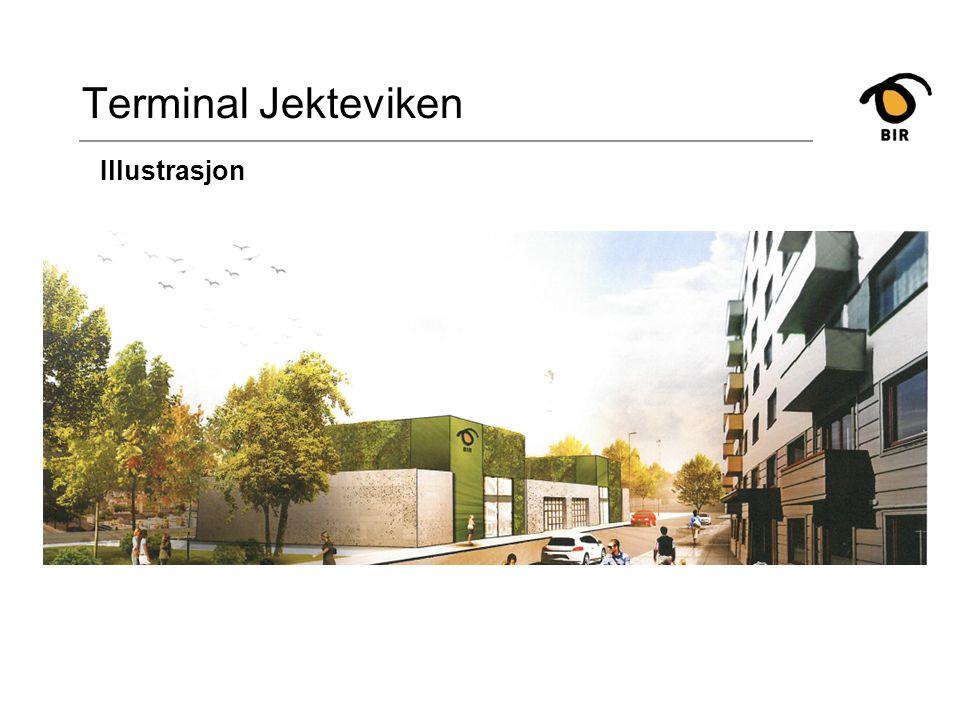 Terminal Nyhavn Plassering av avtrekksrør - Nyhavn