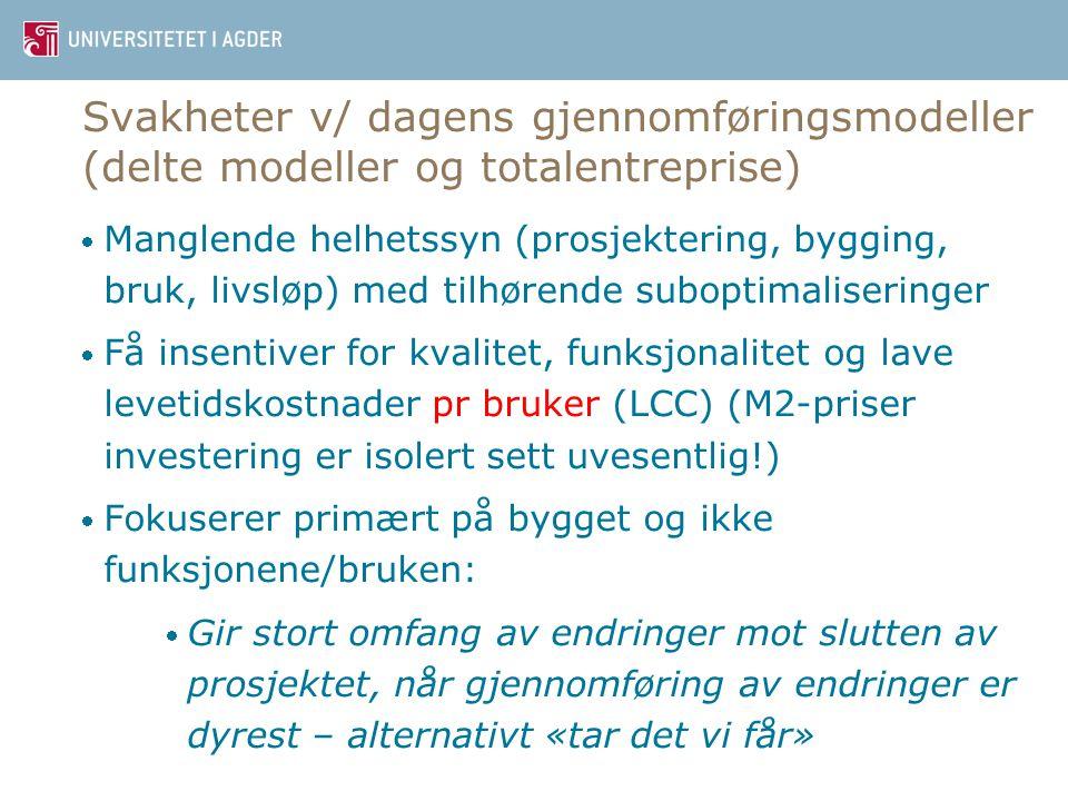 Dr. ing Øystein Meland3 Har byggherrene noe medansvar?