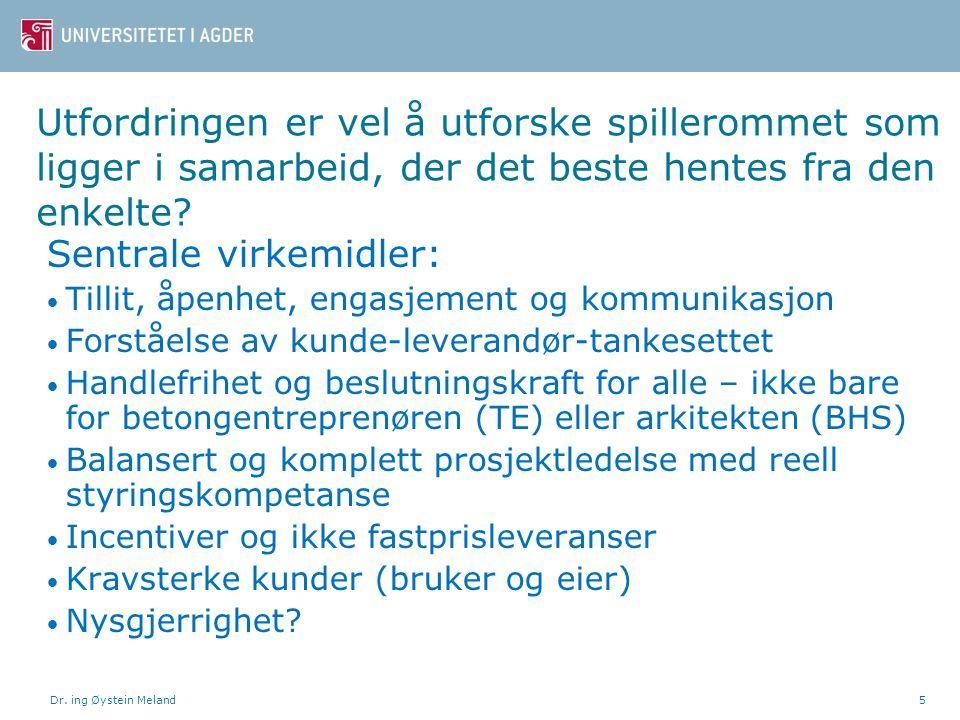 Dr. ing Øystein Meland6