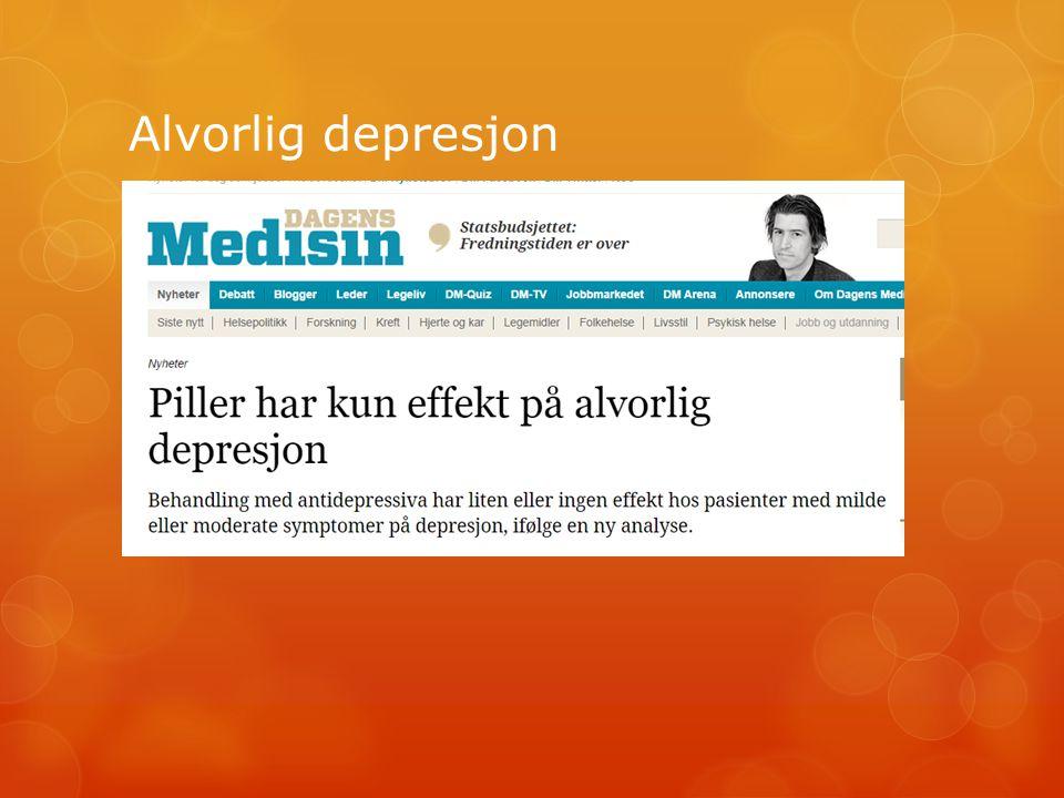 Alvorlig depresjon