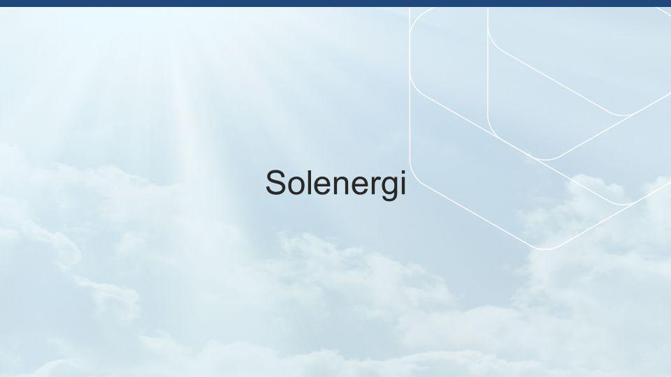 Solenergi - dramatisk kostnadsreduksjon Pris på krystallinsk silisium PV moduler ($ per Watt) Dramatisk reduksjoner i PV modul- prisene: 2008: ~ $4/W 2010: < $2/W 2012: < $1/W Source: Bloomberg New Energy Finance; The Economist *Forecast
