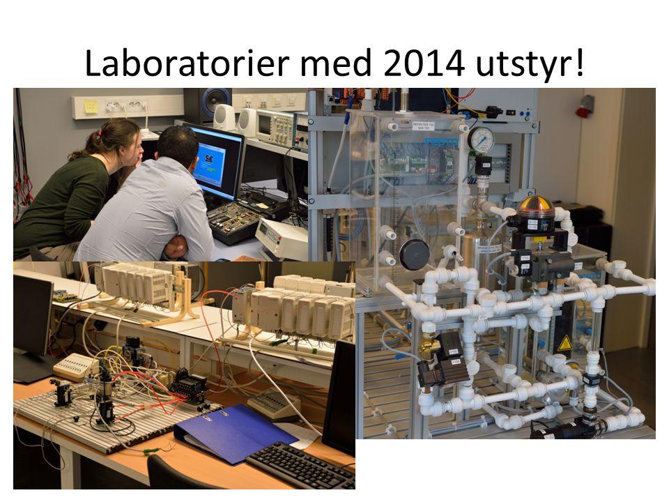 Laboratorier med 2014 utstyr!