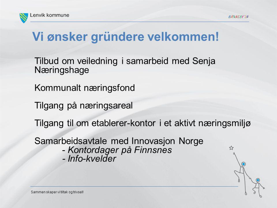 Sjømatregion - Senja Eksportverdi 2,7 milliarder kroner + ringvirkninger En økning på 1 milliard kroner sammenlignet med tallene fra 2007 Kr 180.000 pr innbygger.