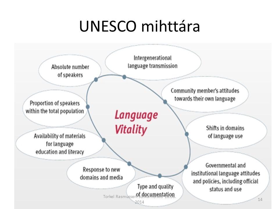 UNESCO mihttára Torkel Rasmussen: Johkamohkis 16.06. 2014 14