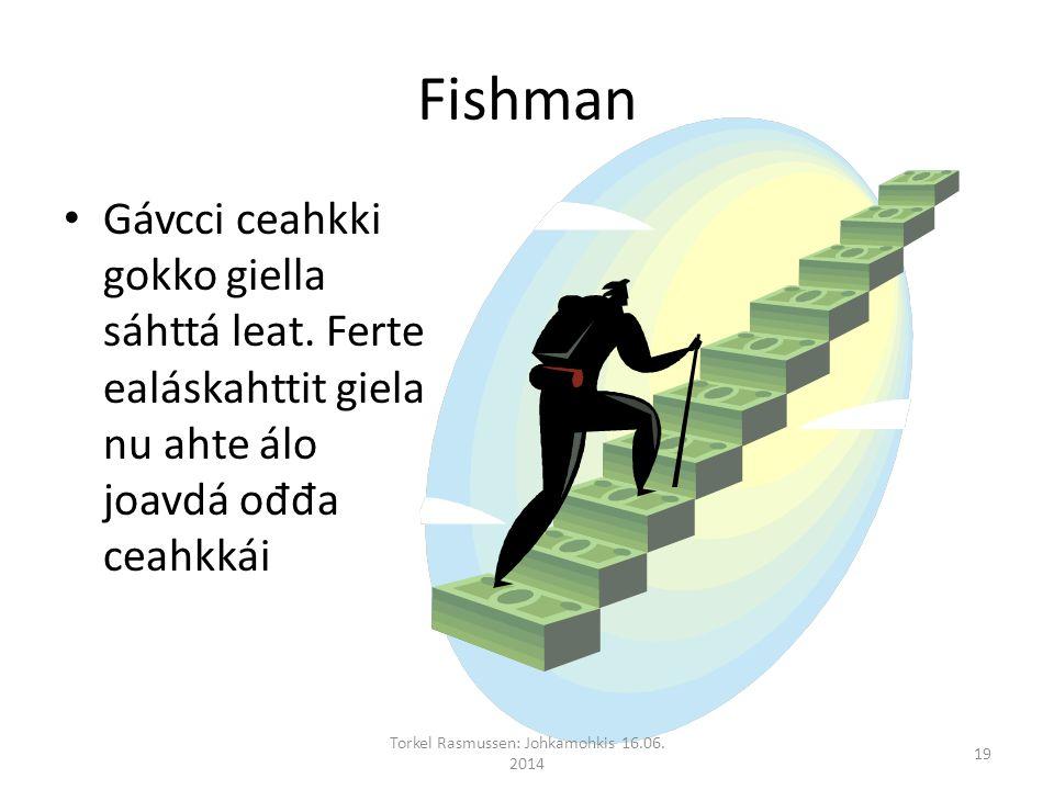 Fishman Gávcci ceahkki gokko giella sáhttá leat.