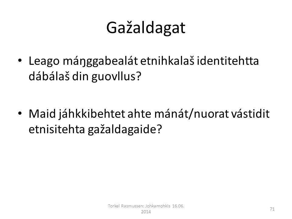 Gažaldagat Leago máŋggabealát etnihkalaš identitehtta dábálaš din guovllus.