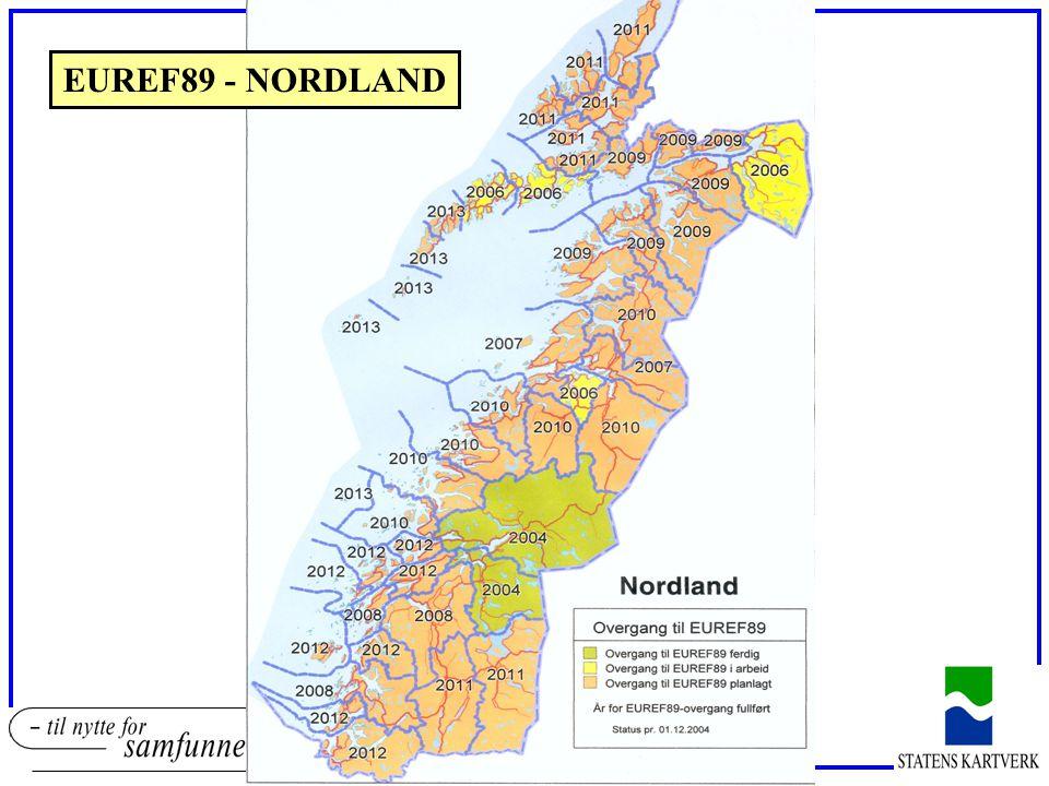 EUREF89 - NORDLAND