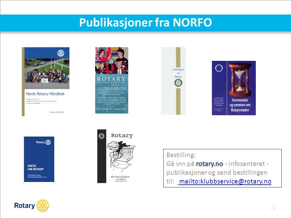 | 6 Publikasjoner fra NORFO