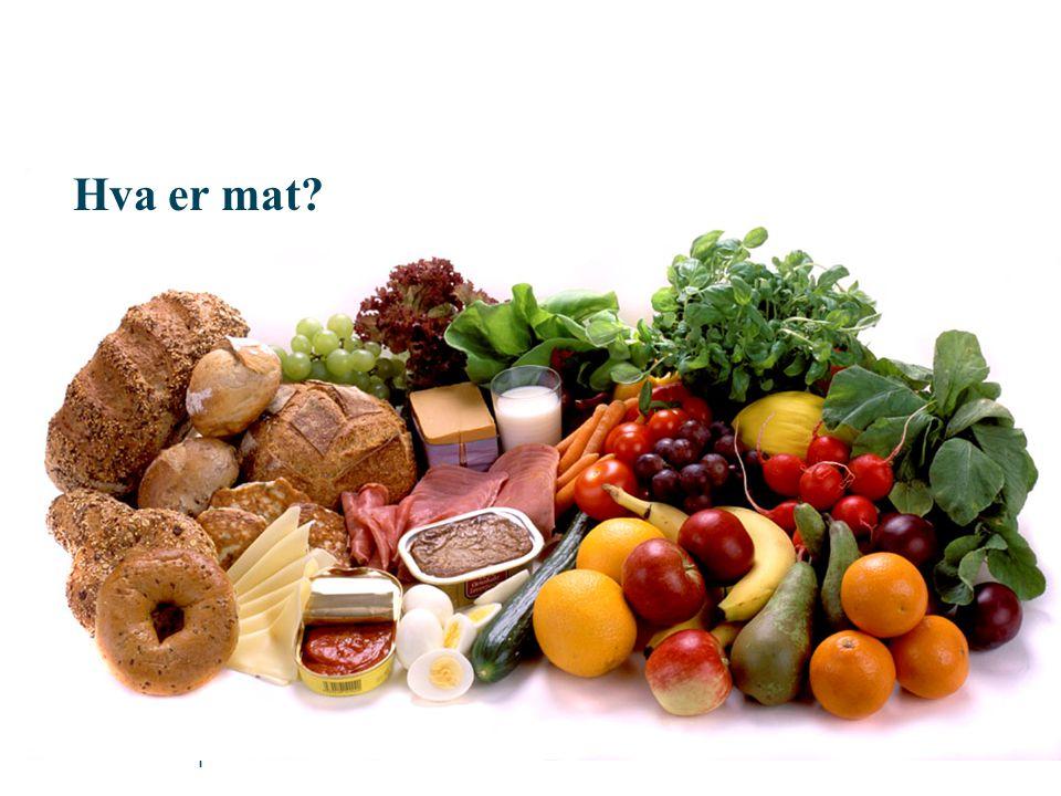 | Hva er mat?