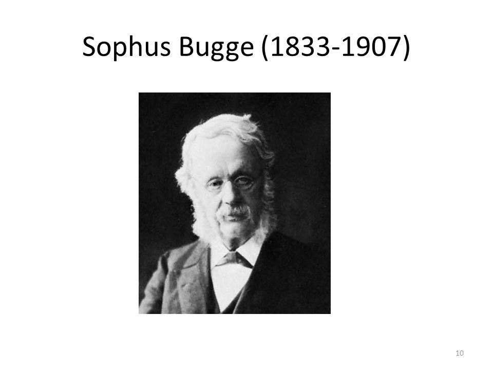 Sophus Bugge (1833-1907) 10