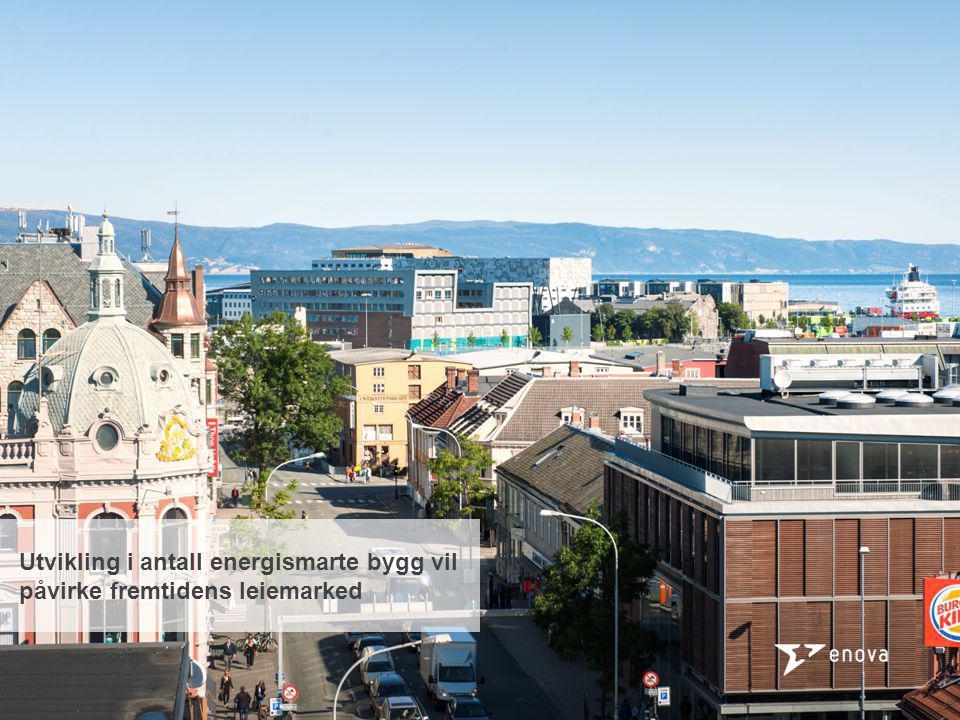 Enovas støtteprogram Støtte til energieffektive nybygg Investeringsstøtte til ny teknologi for fremtidens bygg Støtte til eksisterende bygg Støtte til varmesentraler KLPs Miljøbygg i Trondheim, hvor Enova er leietaker