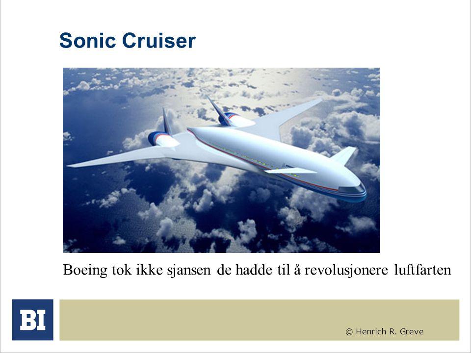© Henrich R. Greve Sonic Cruiser Boeing tok ikke sjansen de hadde til å revolusjonere luftfarten