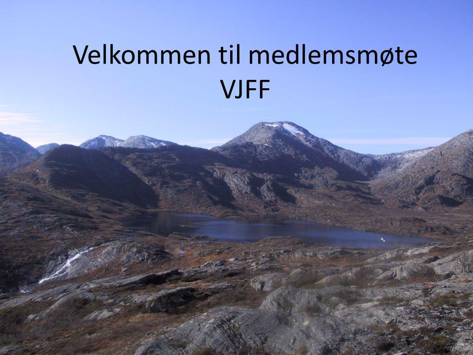 Velkommen til medlemsmøte VJFF