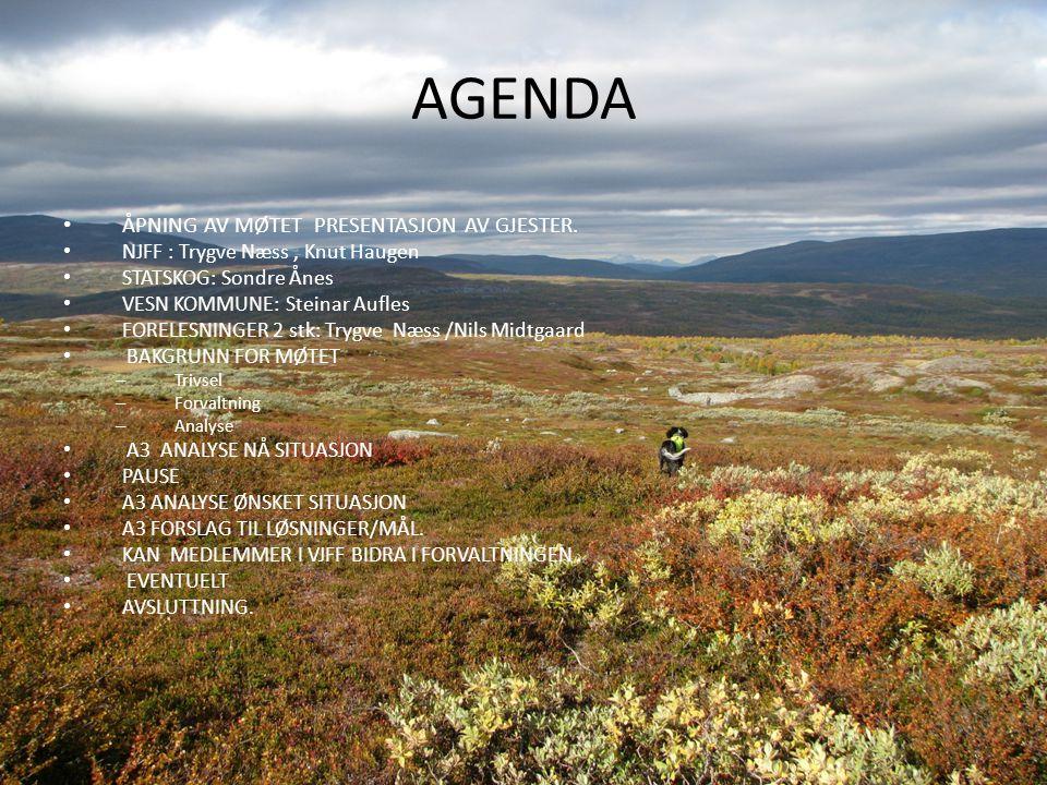 A3-Analyse-Småviltforvaltningen i Hattfjelldahl-Grane-Vefsn kommuner Sak Ny forvaltningsmodell har blitt utprøvd i våre kommuner ved Rypeprosjektet.