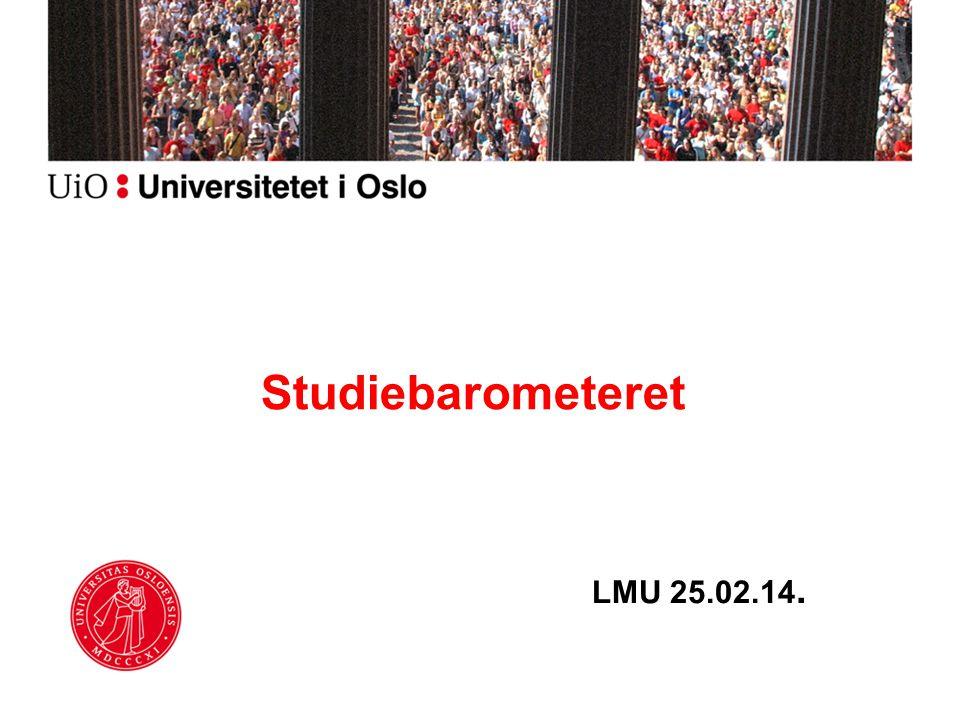 LMU 25.02.14. Studiebarometeret